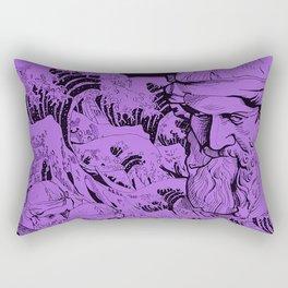 Bermuda (purple) Rectangular Pillow