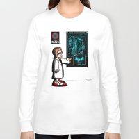 mass effect Long Sleeve T-shirts featuring Mass Effect Too! by JVZ Designs