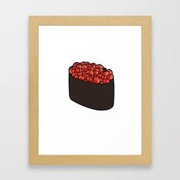 Ikura Gunkan Framed Art Print