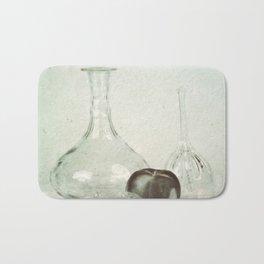 Glass still life Bath Mat