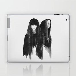 kaonashi (no face) Laptop & iPad Skin