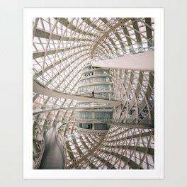 Nest of Phoenix Art Print