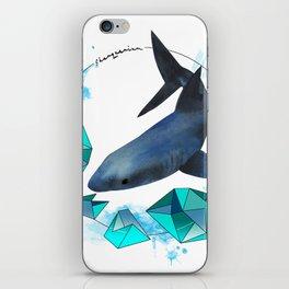Swimming wonder iPhone Skin