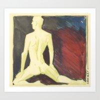 robert farkas Art Prints featuring Robert by Azure Cricket