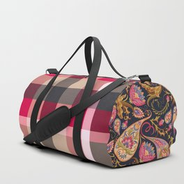 Color is the ritual Duffle Bag