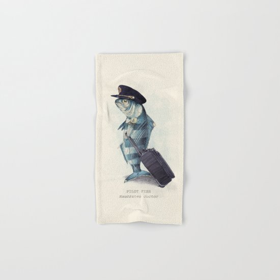 The Pilot Hand & Bath Towel