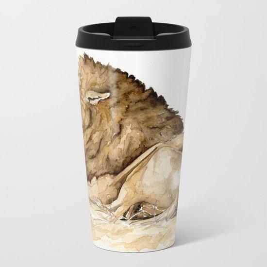 Africa10 Metal Travel Mug