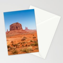 John Ford Point Panorama at Monument Valley Stationery Cards