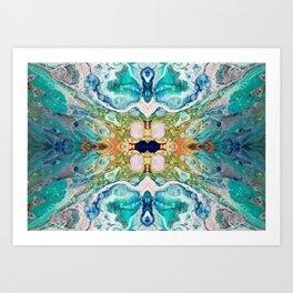 Fragmented 82 Art Print