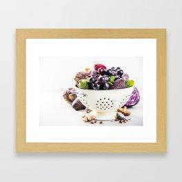 healthy food Framed Art Print
