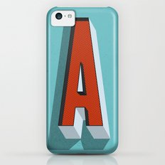 Letter A iPhone 5c Slim Case