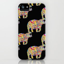 Hippo: Spirit of Confidence iPhone Case