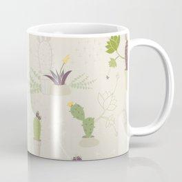 My Potted Cactus Pattern Coffee Mug