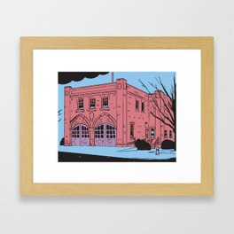 Video on 15th Framed Art Print