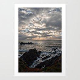 Hartland Peninsula  Art Print