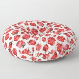 Raspberry vibes Floor Pillow