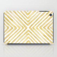 Gilded Bars iPad Case