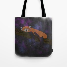 RED PANDA, IN SPACE! Tote Bag