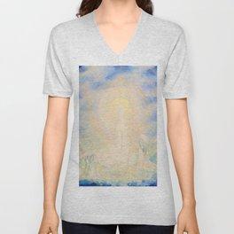 Spirit and Soul, Sky art Unisex V-Neck