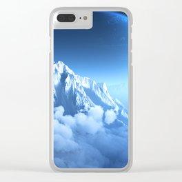 Caerulea (Elevated) Clear iPhone Case