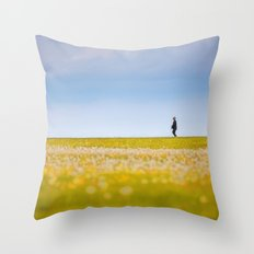 Sometimes We All Walk Alone Throw Pillow
