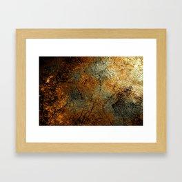 Rust Texture 69 Framed Art Print