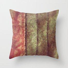 Bookmark Leather Throw Pillow