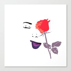 Wink | Floral Canvas Print