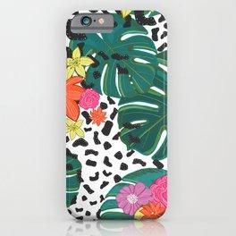 Shining Leopard Detailed summer design pattern iPhone Case