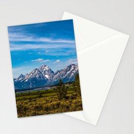 Teton Mountains Stationery Cards
