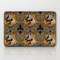 hufflepuff iPad Cases featuring Hufflepuff by Cryptovolans