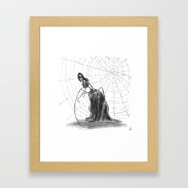Coraline The Other Mother Framed Art Print