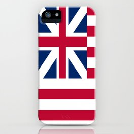 Historical flag of the USA: grand union flag iPhone Case