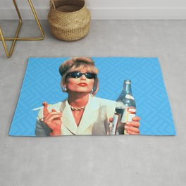 Every Woman Needs A Role Model AbFab Patsy Rug
