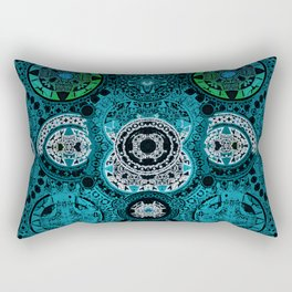Boujee Boho Antique Spanish Cross Rectangular Pillow