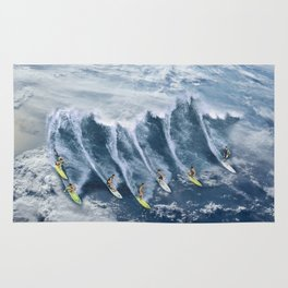 Surfing the Earth Rug
