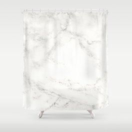 Marble by Hand Shower Curtain