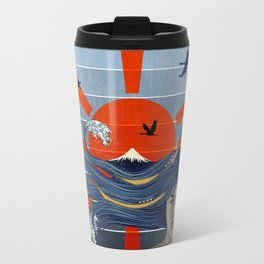 Sunrise over Mount Fuji  Travel Mug