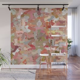 Coral Beads Paint Splatter 5050 Wall Mural