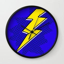 Comic Lightening Wall Clock
