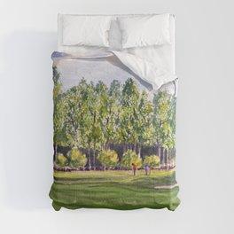 Pinehurst Golf Course No2 Hole 17 Comforters
