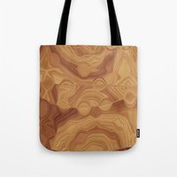 chocolate Tote Bags featuring Chocolate by Kimberly McGuiness