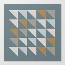 Triangulos Canvas Print