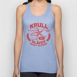 Krull Glaive Beast Slayers Athletic Gear Unisex Tank Top