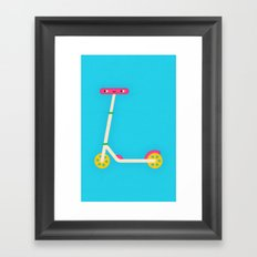 Scooter Framed Art Print