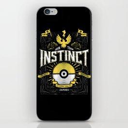 An Instinctual Decision iPhone Skin