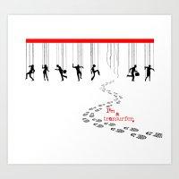 I'm a Transurfer 2 Art Print