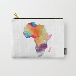 Africa Map 3 Carry-All Pouch