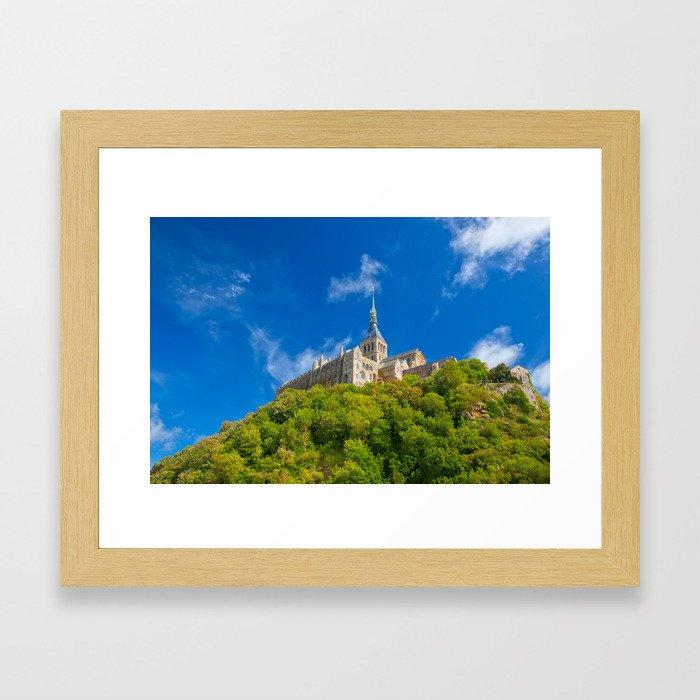 Mont Saint-Michel Abbey Framed Art Print