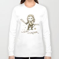 fili Long Sleeve T-shirts featuring Fili Chibi by KuroCyou